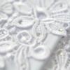 white lace rhinestones